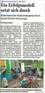 Gifhorner Rundschau (5.5.2017)